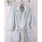 AngelDream安歌吉姆竹纤维儿童浴袍蓝色AGZD6A-B