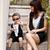 母子装夏装爱湾亲子装2012年夏季新款童装假马甲领带t恤718童装15码