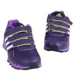阿迪达斯小童网面透气运动鞋G62490深紫罗兰/实验紫/白金属165