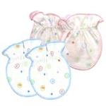 FLUREBABY纯棉婴儿护手套两双装