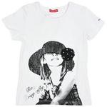 红蜻蜓畅想普罗旺斯系列短袖T恤52720416白色/140