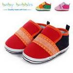 babybubbles休闲系列婴童鞋049-9069-223深红/19