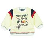 E-baby如意宝贝探险小英雄保暖上衣E115155米白/90