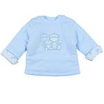 E-baby如意宝贝梦宝宝保暖半高领上衣E115152浅蓝/80