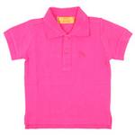 红蜻蜓摩登田园系列短袖POLO衫52720427玫红色/150