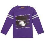 红蜻蜓表白系列圆领T恤52731570紫色/110