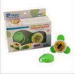 婴侍卫绿色花瓣奶嘴体温计装(带安抚奶嘴)C602