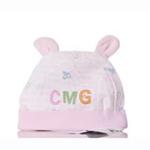 聪明谷胎帽粉色G2231