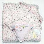 童泰婴儿棉抱被3321粉