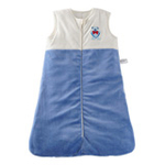 琪凯宝宝天鹅绒系列男婴睡袋背心款115053蓝色66cm