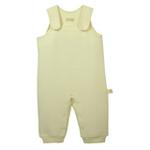 素棉宝贝D007婴幼儿保暖背带裤90(棉本色菱形提花)