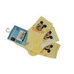 Disney迪士尼米奇/米妮三件组宝宝/儿童袜(三双装)黄色 14/16cm