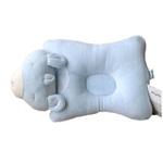 童泰熊仔定型枕F3009新生儿用品天蓝色均码