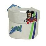 Disney迪士尼儿童帽海军风立体空顶帽6070白色50cm