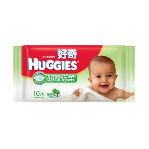 好奇超厚倍柔婴儿湿巾10片装