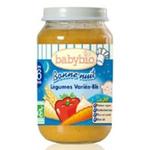 法国Babybio有机晚安混合蔬菜小麦泥