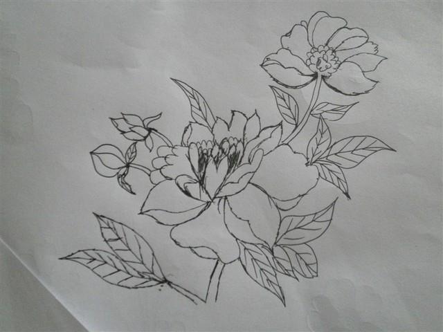 ,比如说简单的花草树木动物.下面是宝妈我画出来的一些图样.   一