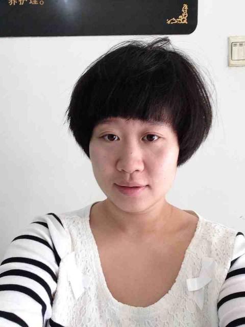 想把头发剪了,图片