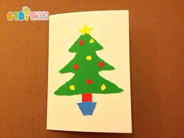 圣诞贺卡的制作