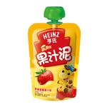 亨氏乐维滋苹果草莓果汁泥120g