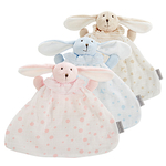 麦侬贝儿 卡通兔子纱布安抚巾