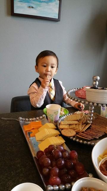 帅帅弟弟两周岁生日 - 豆豆 - 豆豆 (原创)BLOG