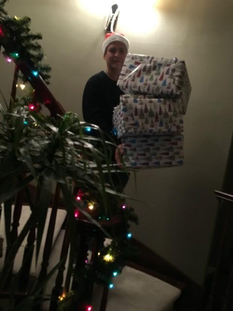 我家的圣诞老人来了 - 豆豆 - 豆豆 (原创)BLOG