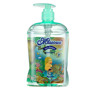 澳洲missoue蜜语进口婴儿滋养洗发水苹果味500ML