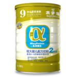 金装α乳清蛋白较大婴儿配方奶粉(二段)