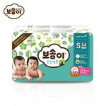 宝松怡BOSOMI婴儿纸尿裤 小号S54片 天然纯棉 韩国原装进口