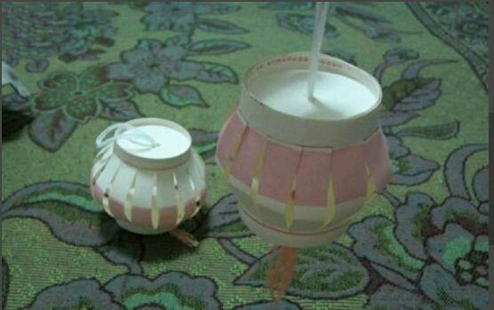 用一次性纸杯制作灯笼,有图解
